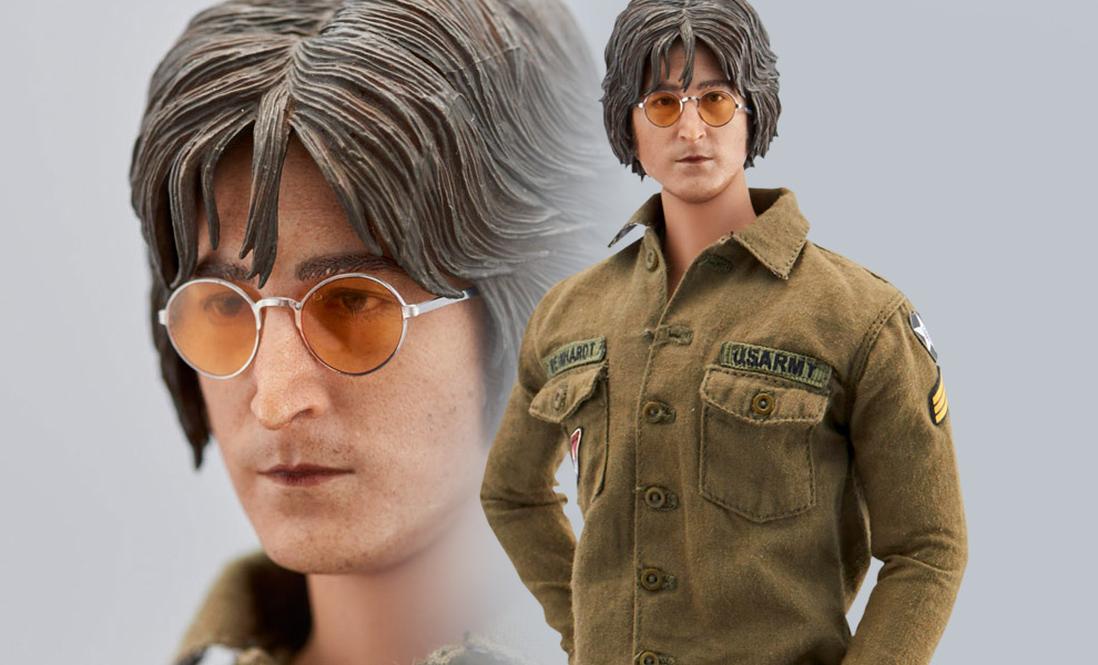 Gallery Feature Image of John Lennon Imagine Sixth Scale Figure - Click to open image gallery