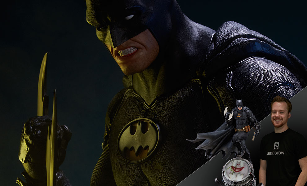 Gallery Feature Image of Batman Black Edition Statue - Click to open image gallery