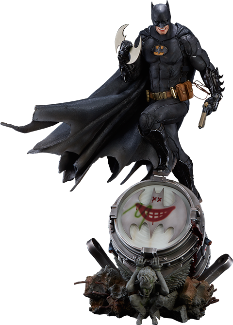 Iron Studios Batman Black Edition Statue