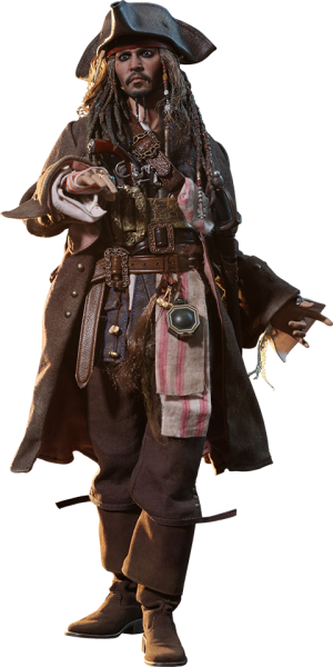 Jack Sparrow Sixth Scale Figure