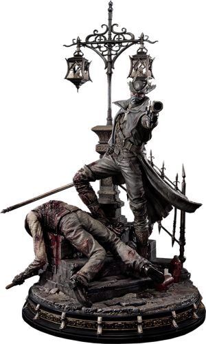 The Hunter Statue