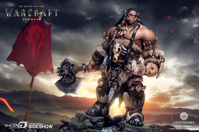 Warcraft-Figurine Durotan