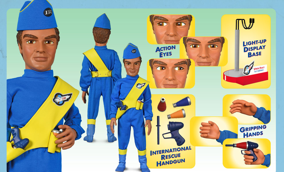 Gallery Feature Image of Virgil Tracy International Rescue Sixth Scale Figure - Click to open image gallery