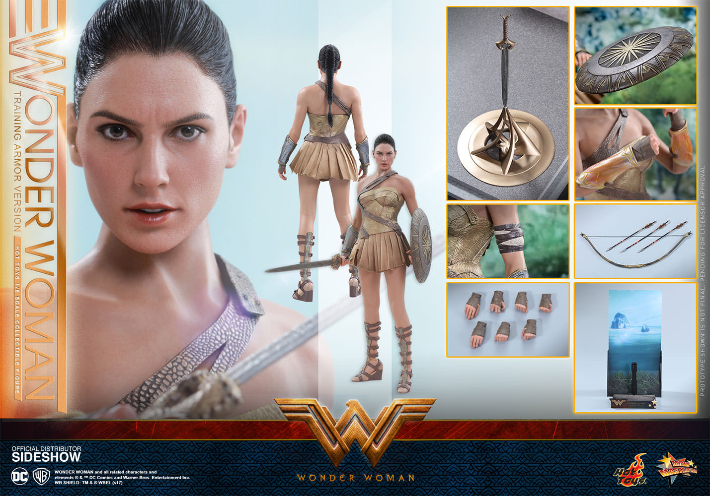 1//6 Action Figure Stand Wonder Woman