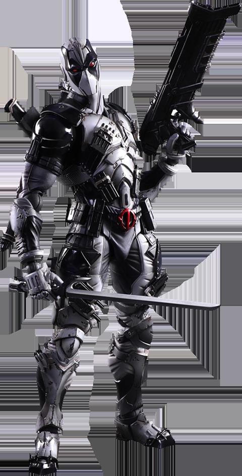 Square Enix Deadpool X-Force Version Collectible Figure
