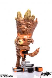 Gallery Image of Rocket and Groot Treehugger Vinyl Collectible
