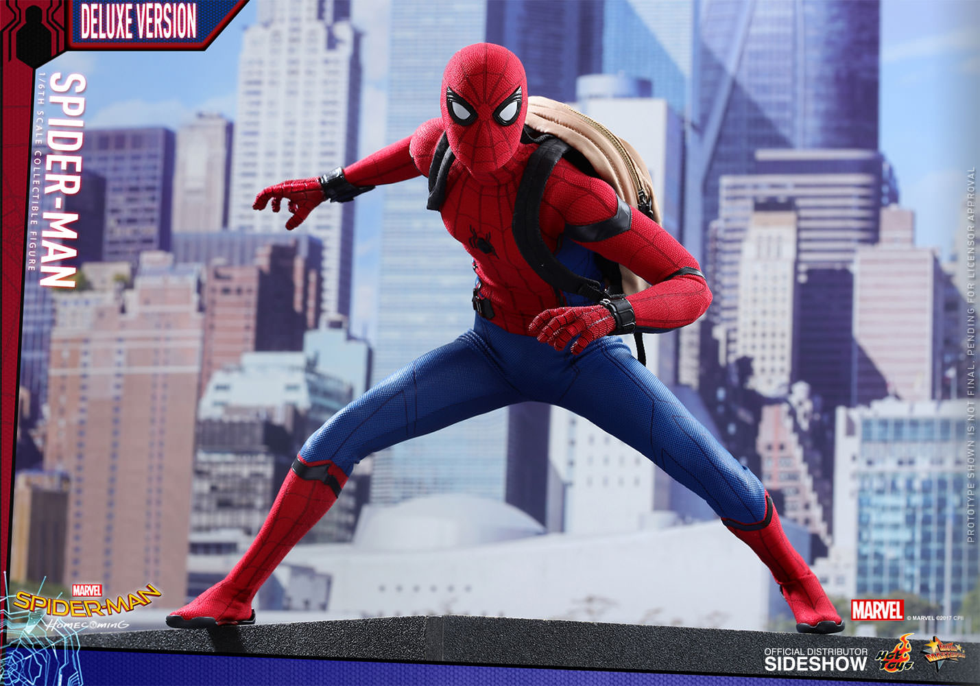 7209985b8b6 Marvel Spider-Man Deluxe Version Sixth Scale Figure by Hot T ...