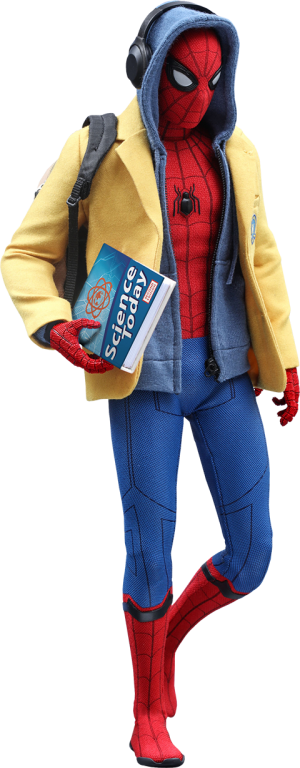 Spider-Man Deluxe Version Sixth Scale Figure