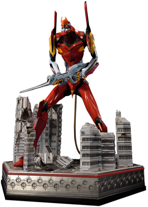 EVA  Production Model-02 Statue