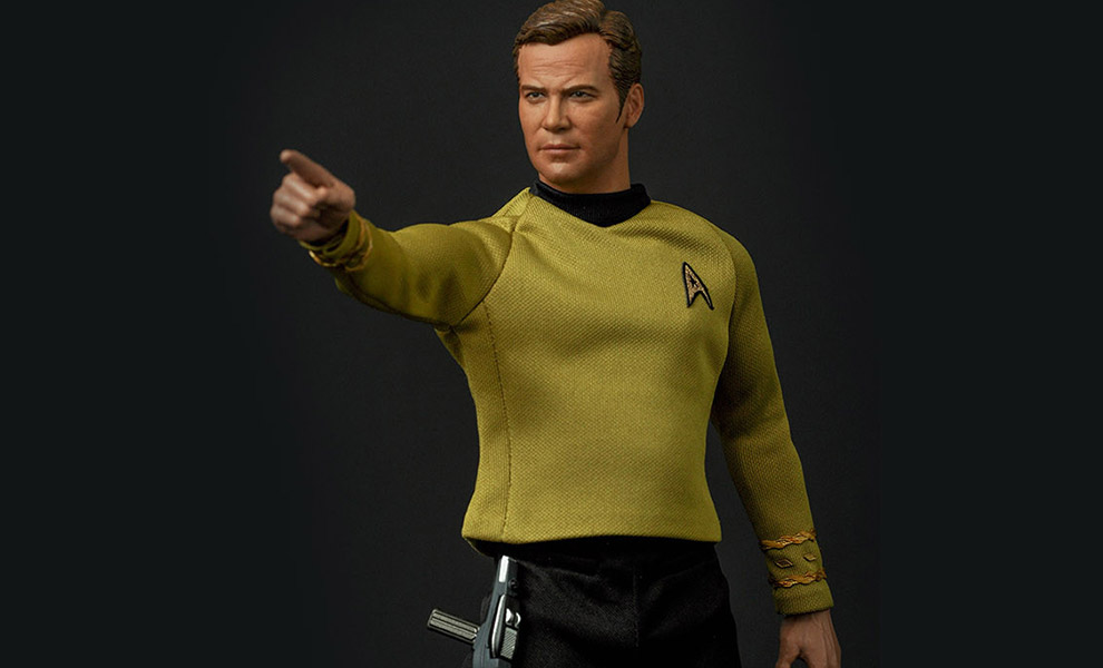 Gallery Feature Image of Captain Kirk Sixth Scale Figure - Click to open image gallery