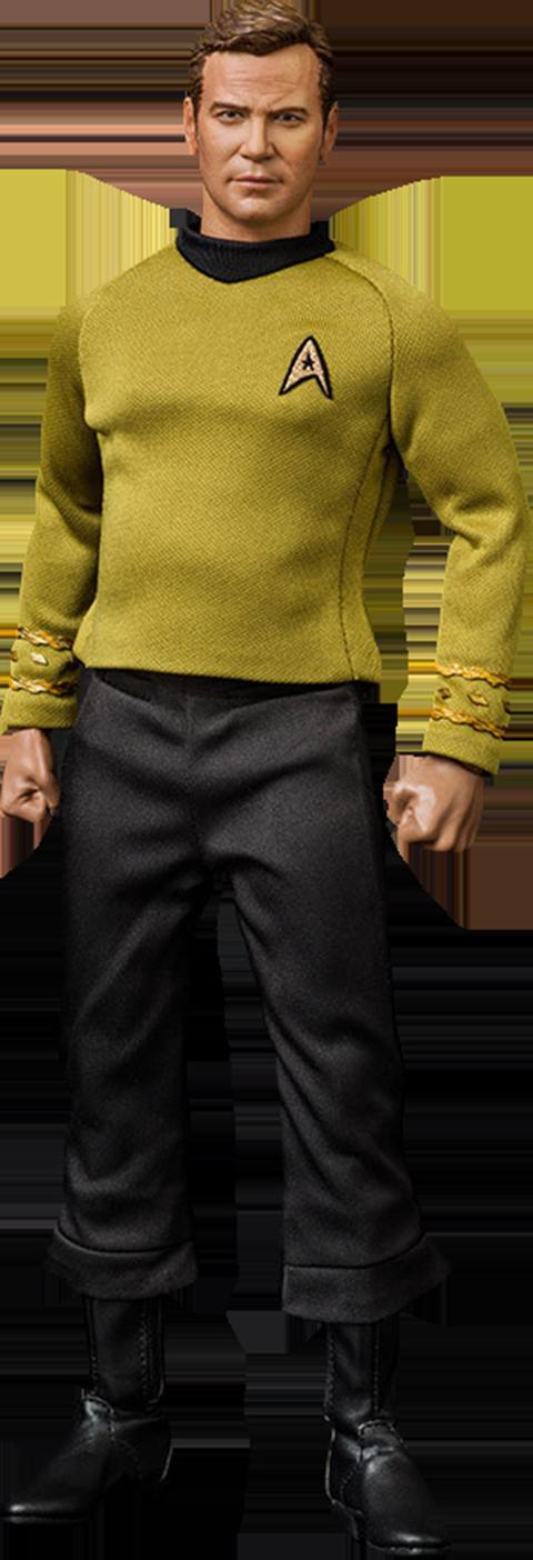 Quantum Mechanix Captain Kirk Sixth Scale Figure