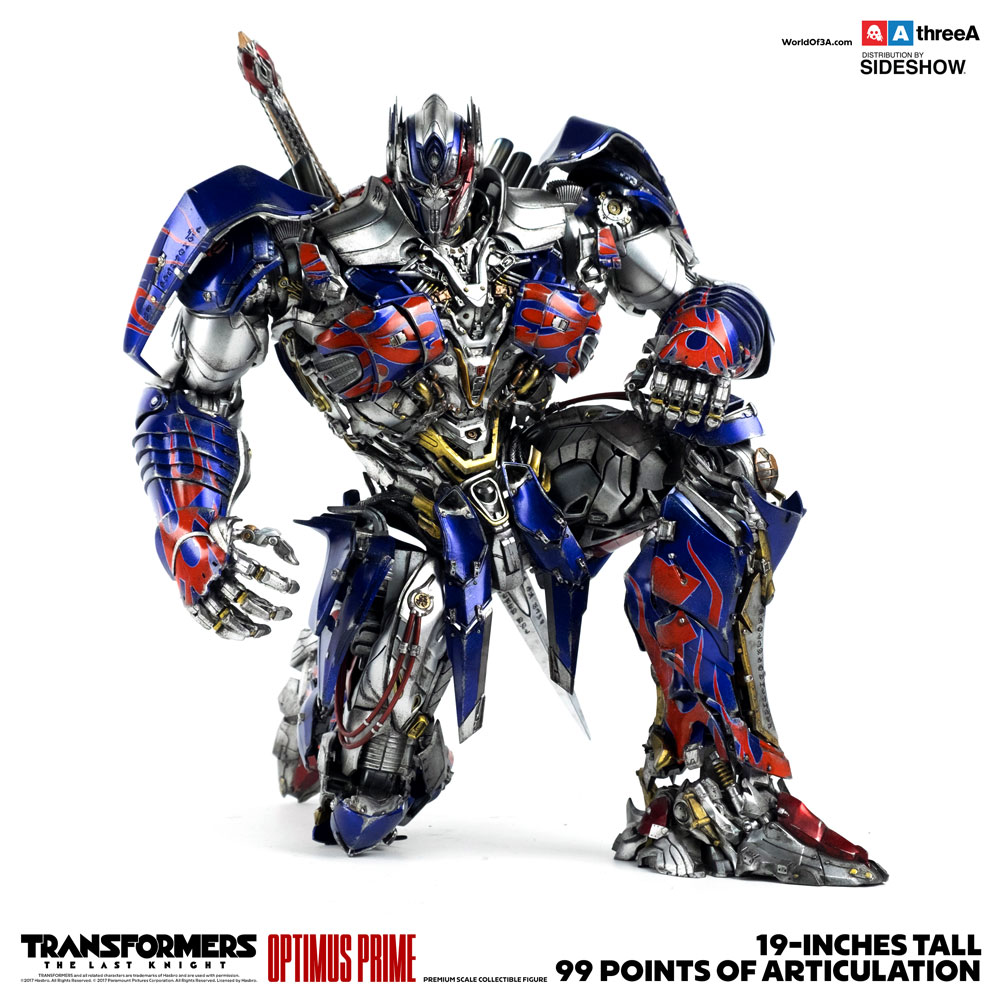 Transformers Optimus Prime Collectible Figure by ThreeA ...