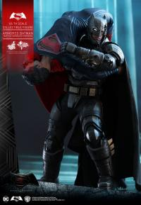 Gallery Image of Armored Batman Battle Damaged Version Sixth Scale Figure