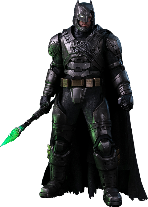 Hot Toys Armored Batman Battle Damaged Version Sixth Scale Figure