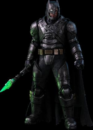 Armored Batman Battle Damaged Version Sixth Scale Figure