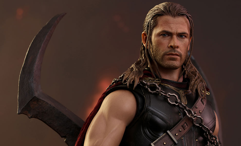 Gallery Feature Image of Roadworn Thor Sixth Scale Figure - Click to open image gallery