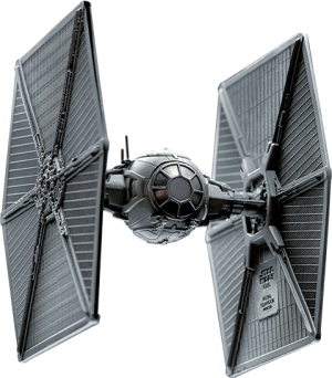 TIE Fighter Pewter Collectible