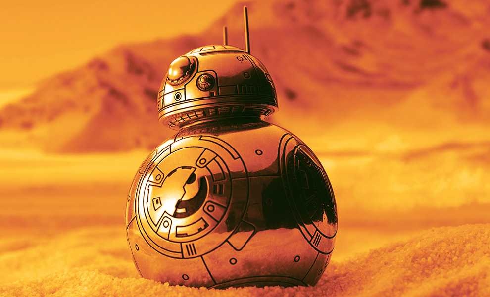 Gallery Feature Image of BB-8 Container Pewter Collectible - Click to open image gallery