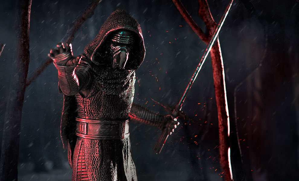Gallery Feature Image of Kylo Ren Pewter Collectible - Click to open image gallery