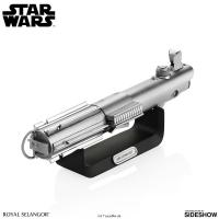 Gallery Image of Luke Skywalker Lightsaber Document Holder Pewter Collectible