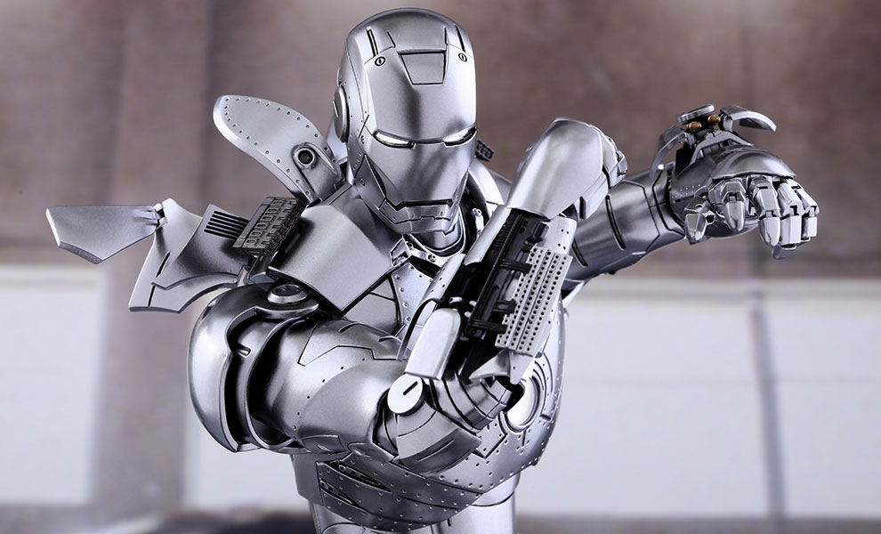 Gallery Feature Image of Iron Man Mark II Sixth Scale Figure - Click to open image gallery