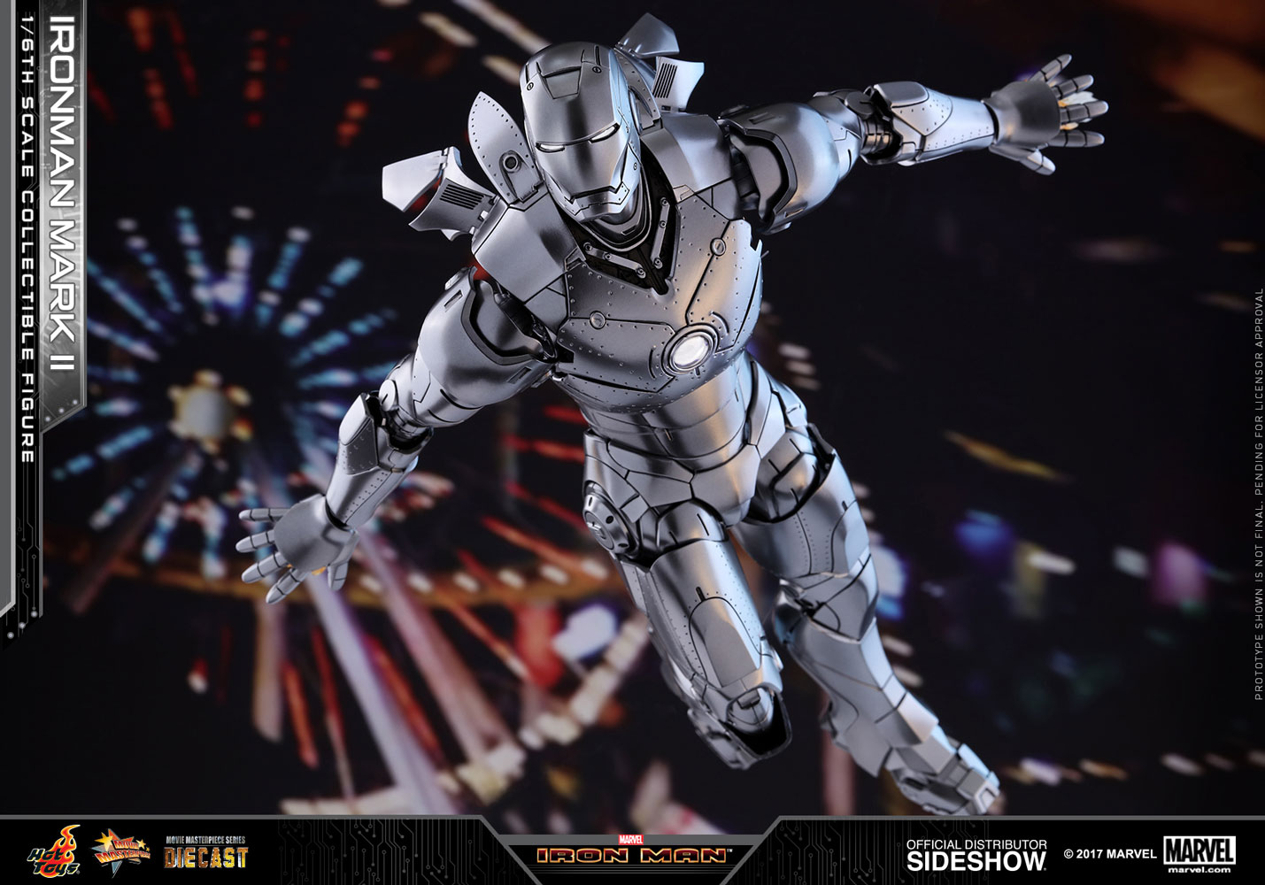 Marvel Iron Man Mark Ii Sixth Scale Figure By Hot Toys