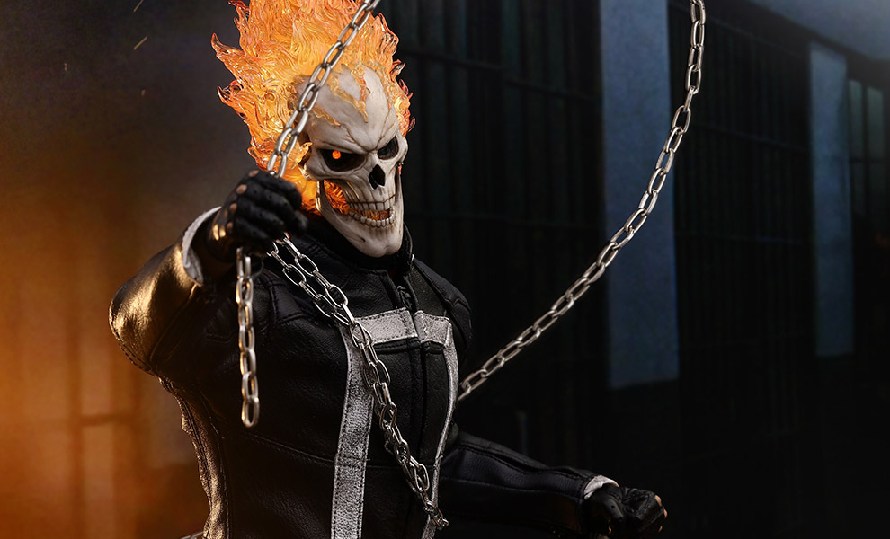 Gallery Feature Image of Ghost Rider Sixth Scale Figure - Click to open image gallery