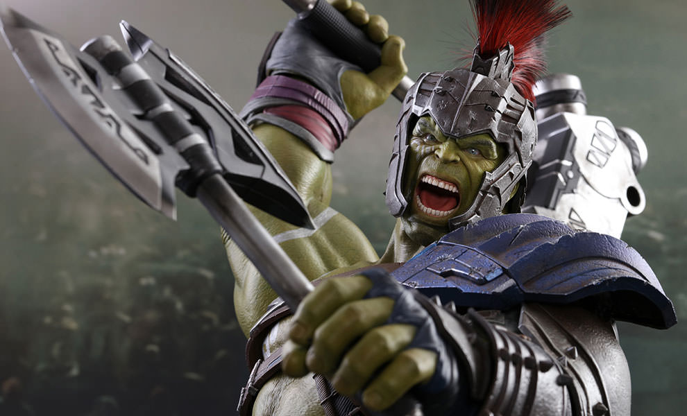Gallery Feature Image of Gladiator Hulk Sixth Scale Figure - Click to open image gallery
