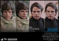Gallery Image of Luke Skywalker Deluxe Version Sixth Scale Figure