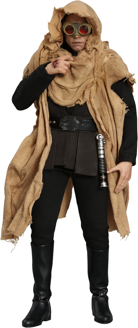 Hot Toys Luke Skywalker Deluxe Version Sixth Scale Figure