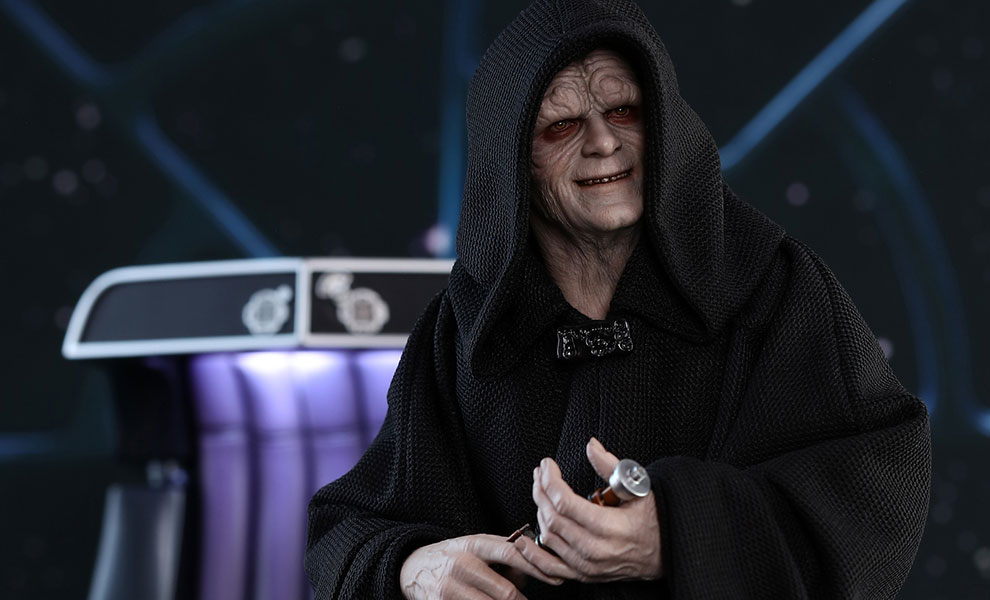 Gallery Feature Image of Emperor Palpatine Deluxe Version Sixth Scale Figure - Click to open image gallery