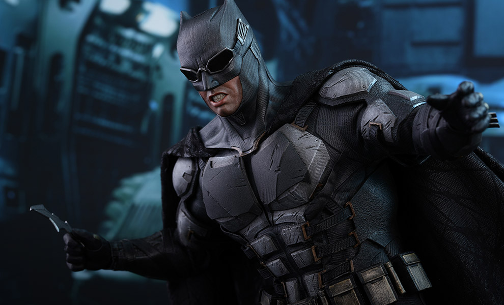 Gallery Feature Image of Batman Tactical Batsuit Version Sixth Scale Figure - Click to open image gallery