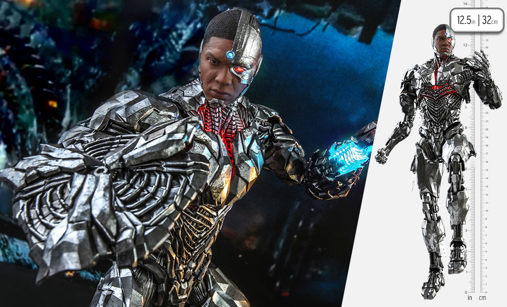 Gallery Feature Image of Cyborg Sixth Scale Figure - Click to open image gallery
