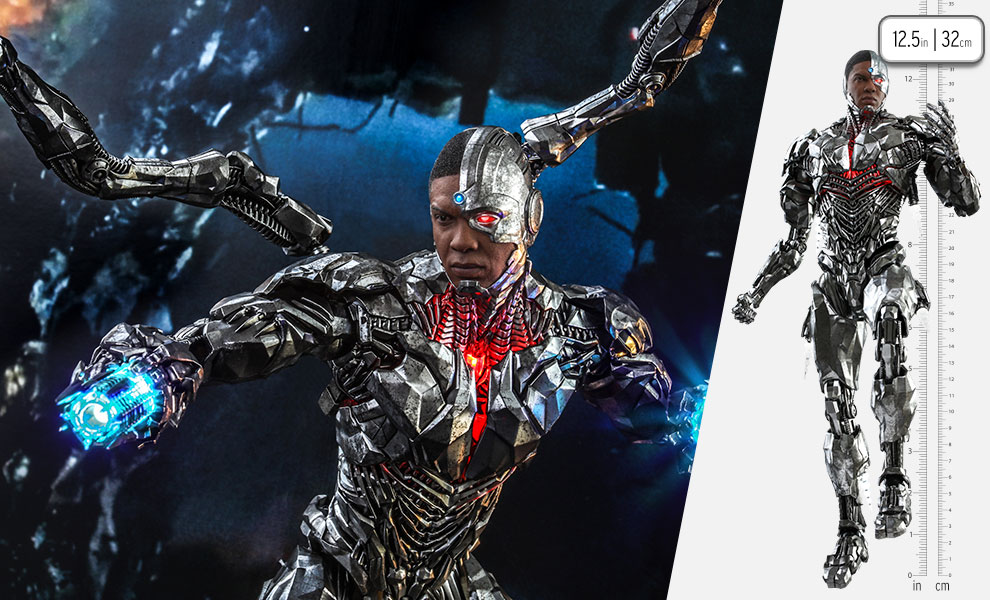 Gallery Feature Image of Cyborg (Special Edition) Sixth Scale Figure - Click to open image gallery