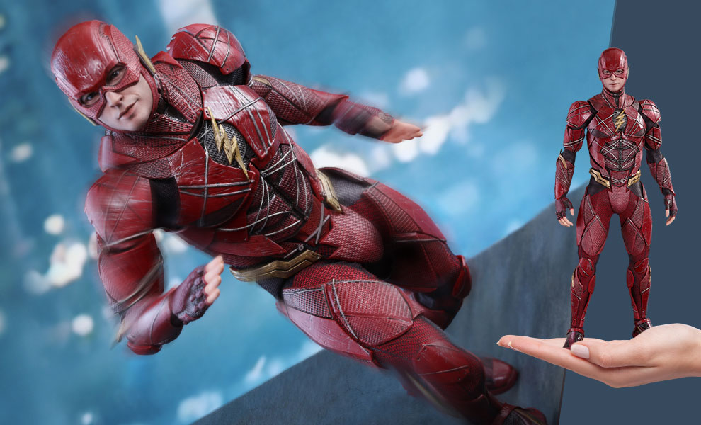 Gallery Feature Image of The Flash Sixth Scale Figure - Click to open image gallery