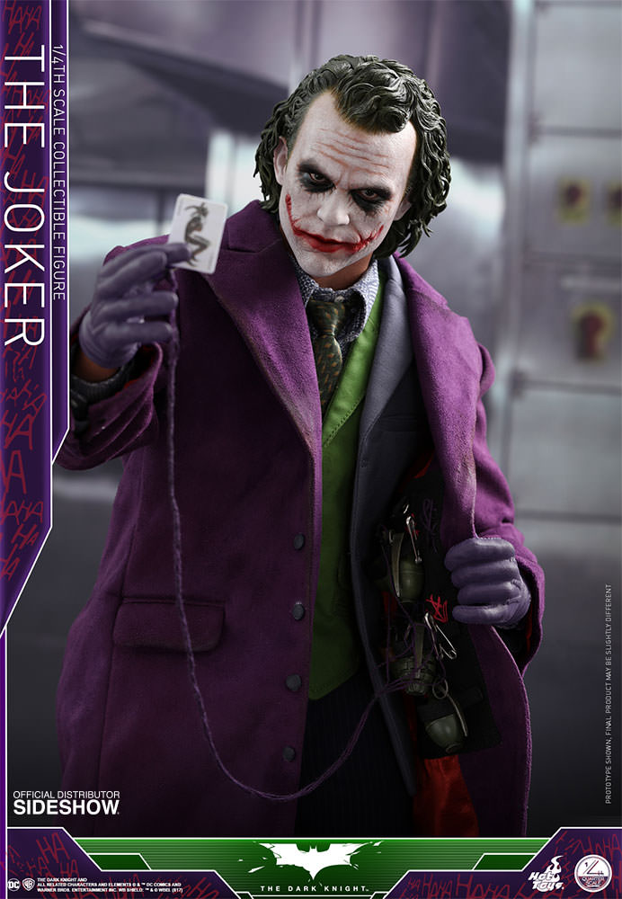 Dc Comics The Joker Quarter Scale Figure By Hot Toys