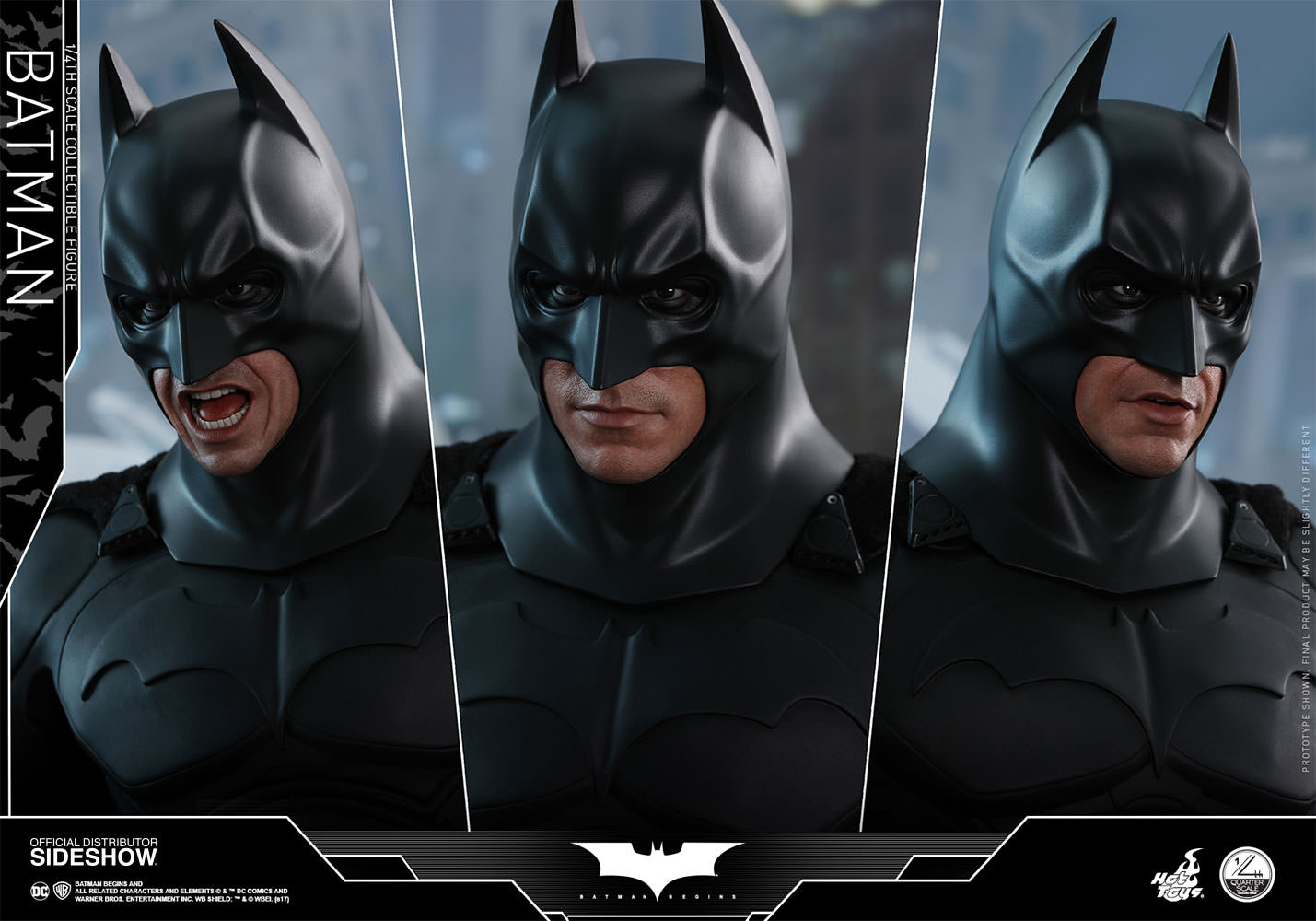 306b52ddb7b4 DC Comics Batman Quarter Scale Figure by Hot Toys