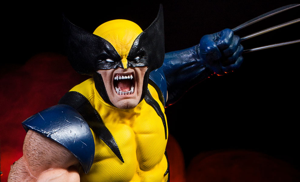 Gallery Feature Image of Wolverine Statue - Click to open image gallery