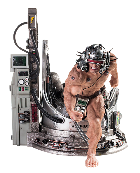 Iron Studios Weapon X Statue