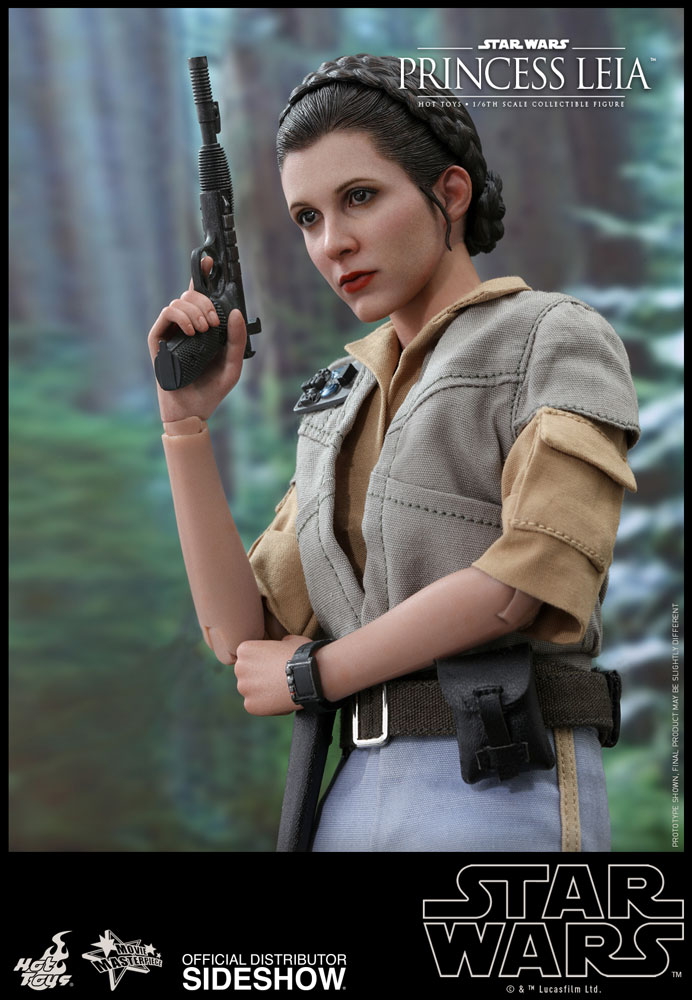 Star Wars Princess Leia Sixth Scale Figure By Hot Toys Sideshow