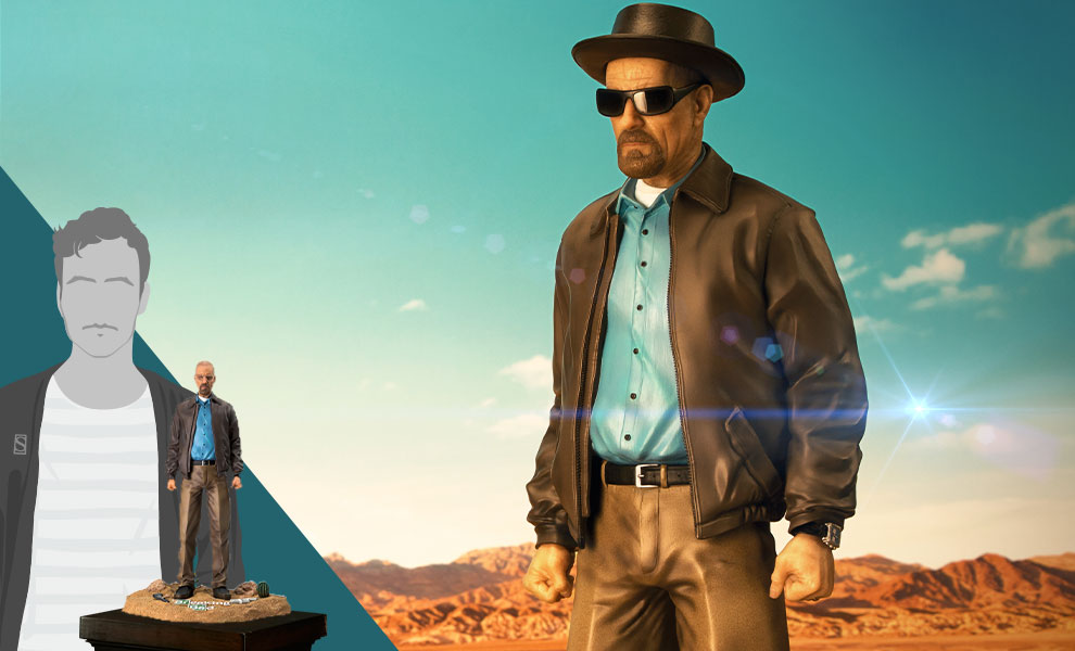 Gallery Feature Image of Walter White Quarter Scale Statue - Click to open image gallery