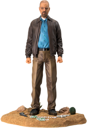 Walter White Quarter Scale Statue