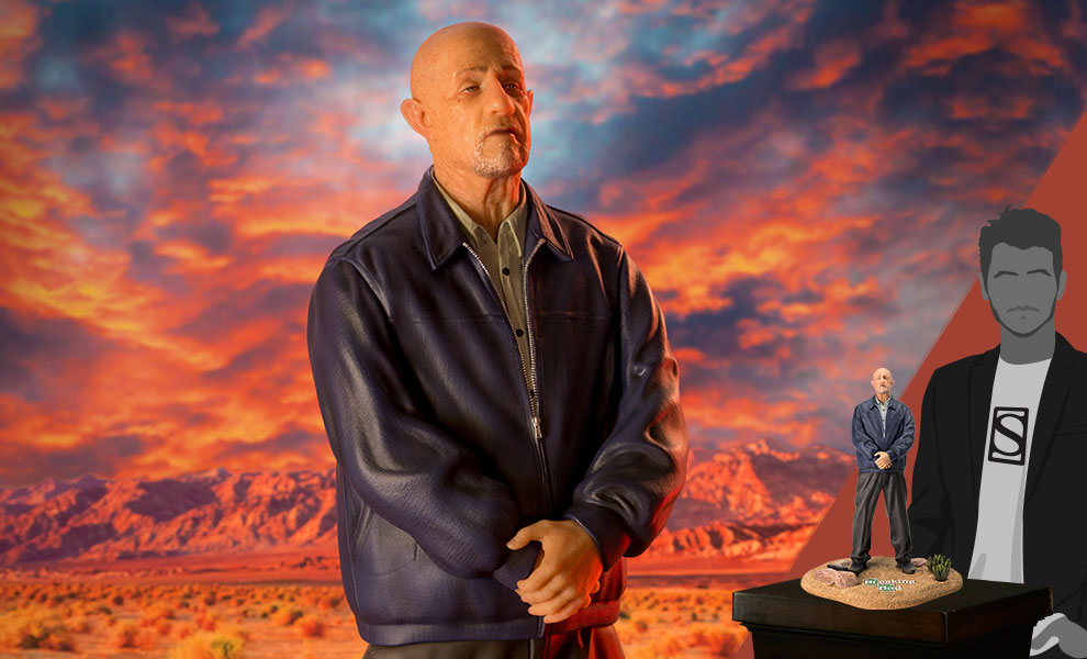 Gallery Feature Image of Mike Ehrmantraut Quarter Scale Statue - Click to open image gallery