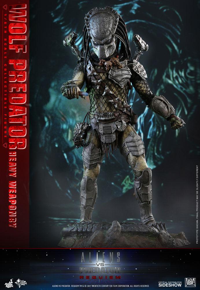 Aliens VS Predator: Requiem Wolf Predator Heavy Weaponry Six