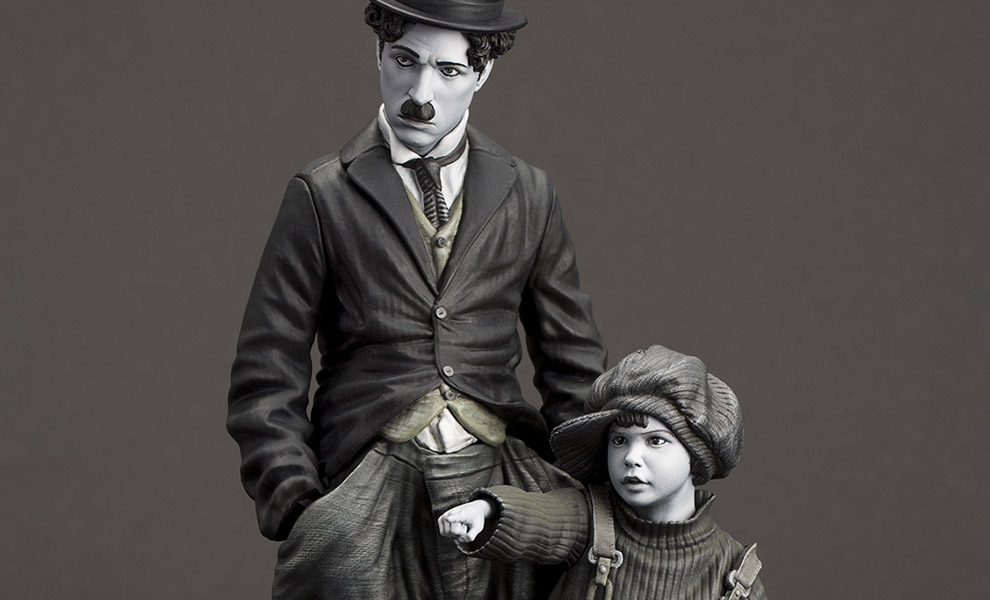 Gallery Feature Image of Charlie Chaplin The Kid Statue - Click to open image gallery