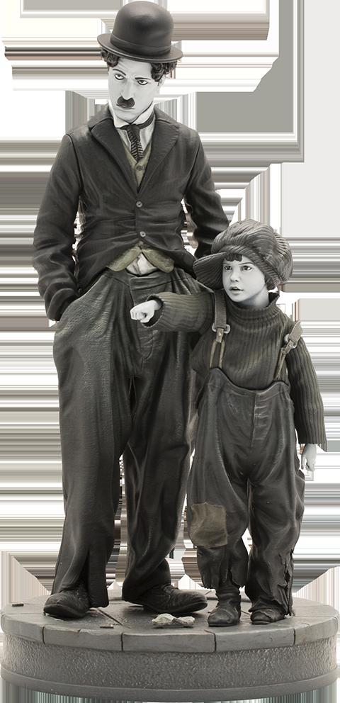 Infinite Statue Charlie Chaplin The Kid Statue