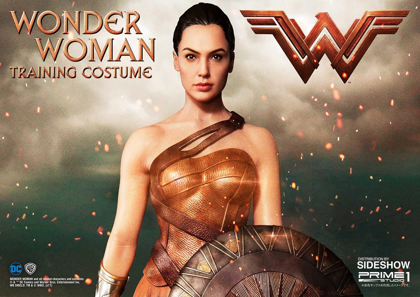 Dc Comics Wonder Woman Training Costume Statue By Prime 1 St