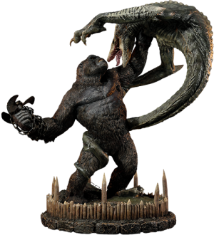 Kong vs Skull Crawler Deluxe Version Statue