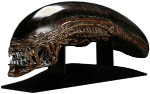 Alien New Warrior Life-Size Head Prop Replica