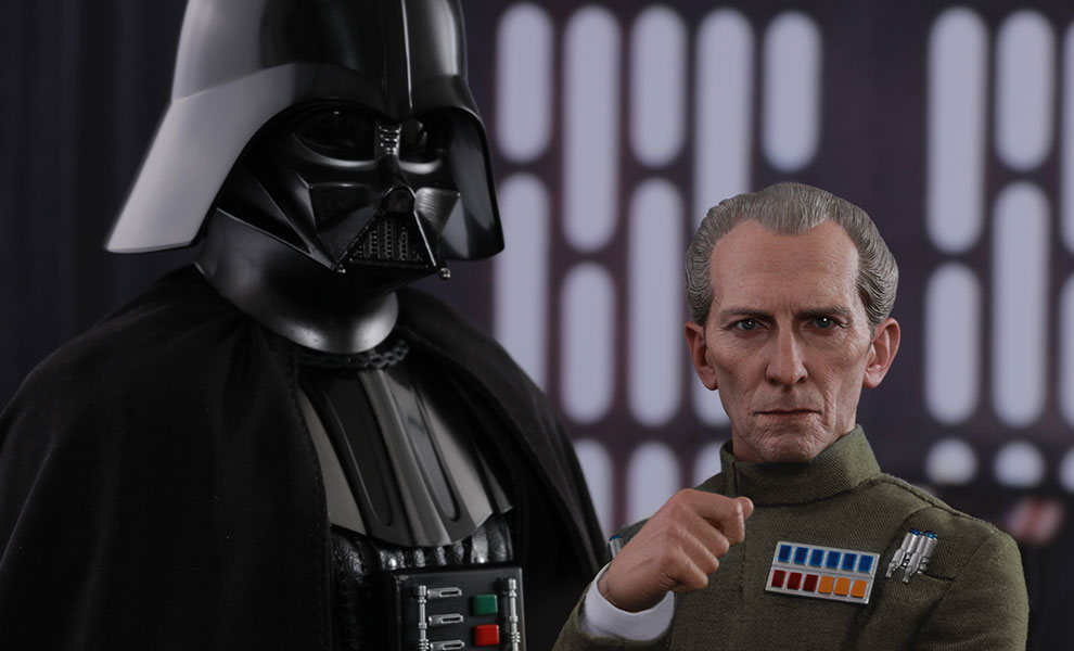 Gallery Feature Image of Grand Moff Tarkin and Darth Vader Sixth Scale Figure - Click to open image gallery